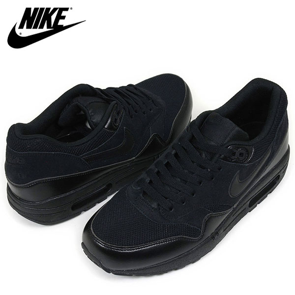 nike air max 1 essential all black