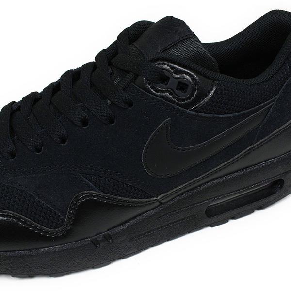 huge discount abc95 f037f ... NIKE Nike AIR MAX 1 ESSENTIAL  TRIPLE BLACK quot shoes mens Air Max 1  essential