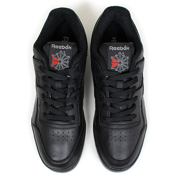 sale retailer b0831 3e41d ... Reebok Reebok WORKOUT PLUS VINTAGE men sneakers  ALL BLACK  black  leather practice game vintage ...