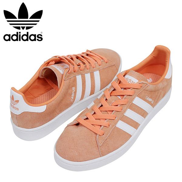 Shoes Adidas OrangeOrange Men Genuine Suede Leather Bz0083 Rakuten Sneakerspale Order Campus Pastel Mail Color 29WDIYHE