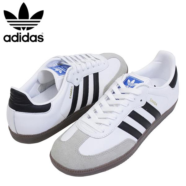Shoes BZ0057 Rakuten mail order for the adidas Adidas SAMBA men sneakers WHITEBLACK samba originals vintage white black leather gum sole man