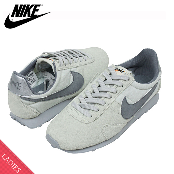 NIKE Nike WMNS PRE MONTREAL RACER VNTG ladies sneaker shoes light grey  Premont Li all running retro classic women's pear flowers shoes Rakuten  store