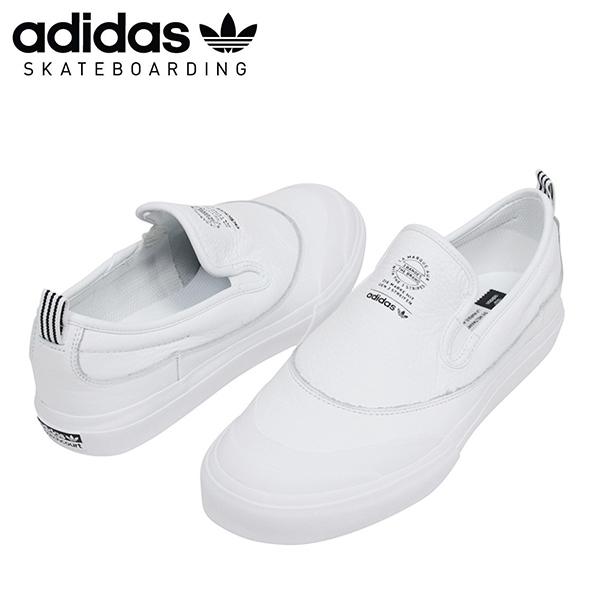 0a43bb969317d9 Shoes CG4511 Rakuten mail order for the adidas skateboarding Adidas  MATCHCOURT SLIP CORE men sneakers WHITE slip-ons men white white スケートボード ...