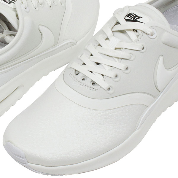 premium selection dace8 6f68c NIKE Nike WMNS AIR MAX THEA ULTRA PREMIUM Lady s sneakers  ALL WHITE  white running  shoes max NIKE LAB 848,279-100 white pear flower shoes Rakuten mail ...
