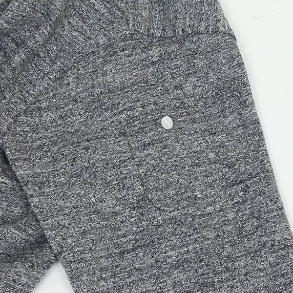 RIDING HIGH 라이 딩이 새 쌈 헨리 넥 셔츠 [MIX CHARCOAL] 남성 컷 소 우 LOOP WHEEL 대리석 차콜 그레이 빈티지 남성용 MADE IN JAPAN 일본 업체 라쿠텐 쇼핑몰