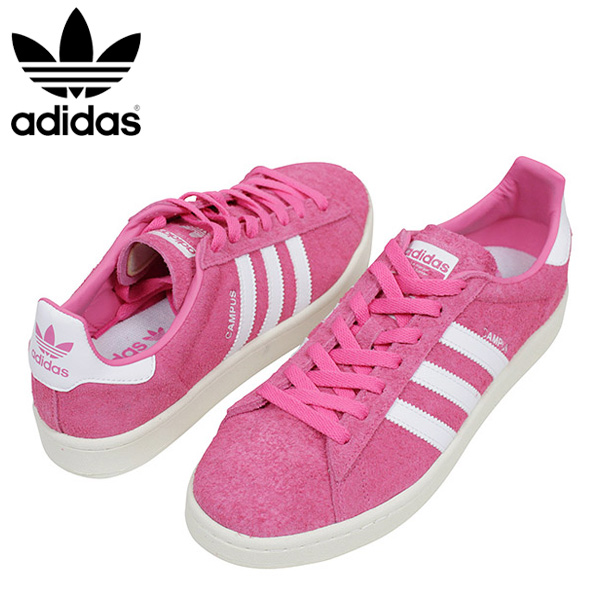 Mens Campus Fitness Shoes, Pink adidas