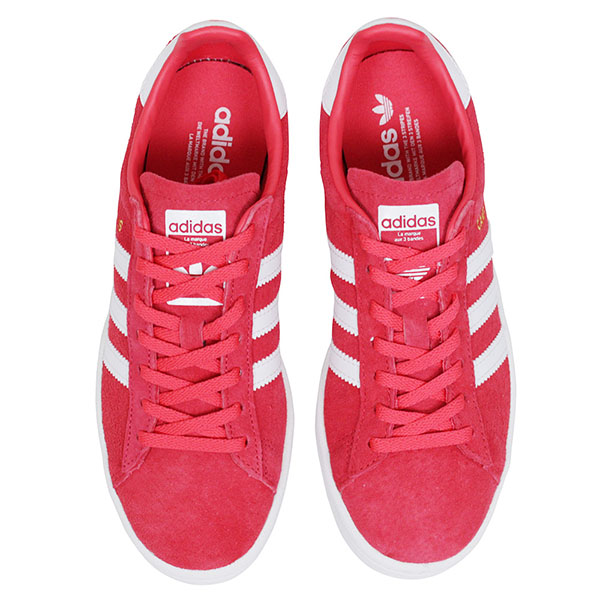 105eacb94bc Shoes BY9847 Rakuten mail order for the adidas Adidas CAMPUS W SUEDE Lady s  sneakers  CORAL PINK  campus pink suede leather shoes woman