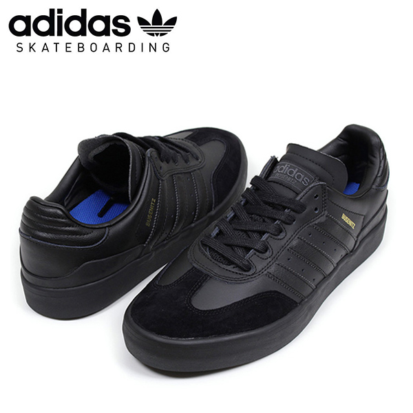d7b52d1dd09 Shoes black SB BY4444 Rakuten mail order for the adidas skateboarding  Adidas BUSENITZ VULC RX men sneakers  ALL BLACK  ブセニッツブラック SAMBA sun ...