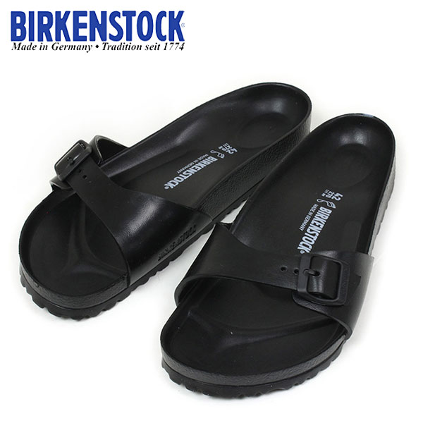 38eafa00f7ec BIRKENSTOCK MADRID EVA women s Birkenstock  BLACK  women s Bilkent spring  summer Black Black MADE IN GERMANY made in Germany 128161 10P04Jul15