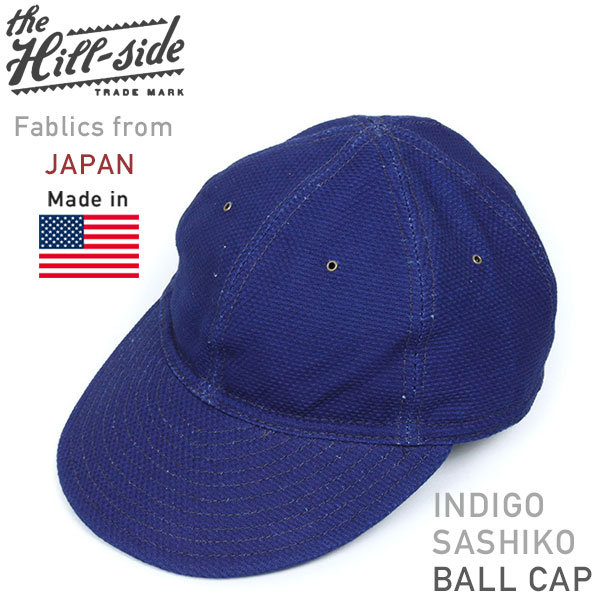 8feae292dc4 miami records  The Hill-side hillside 6 Panel baseball cap Hat baseball cap  men s Indigo quilting vintage vintage MADE IN U S A... American Indigo for  men ...