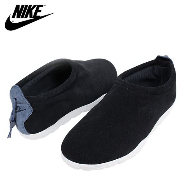 NIKE Nike AIR MOC ULTRA men sneakers [BLACK] Brach's aide air mock slip-ons  NIKE LAB HTM ACG ACRONYM shoes black 862,440-001 Rakuten mail order