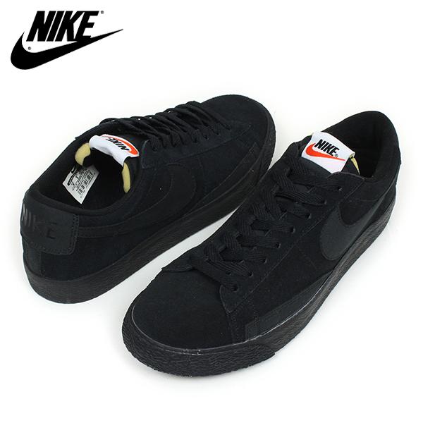 nike black blazers low