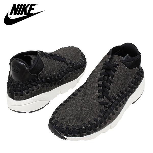 NIKE ナイキ AIR FOOTSCAPE WOVEN NM メンズ スニーカー BLACK ブラック 黒 フットスケープ ウーブン ブーツ NIKE LAB HTM ACG 875797-001 靴 送料無料 通販