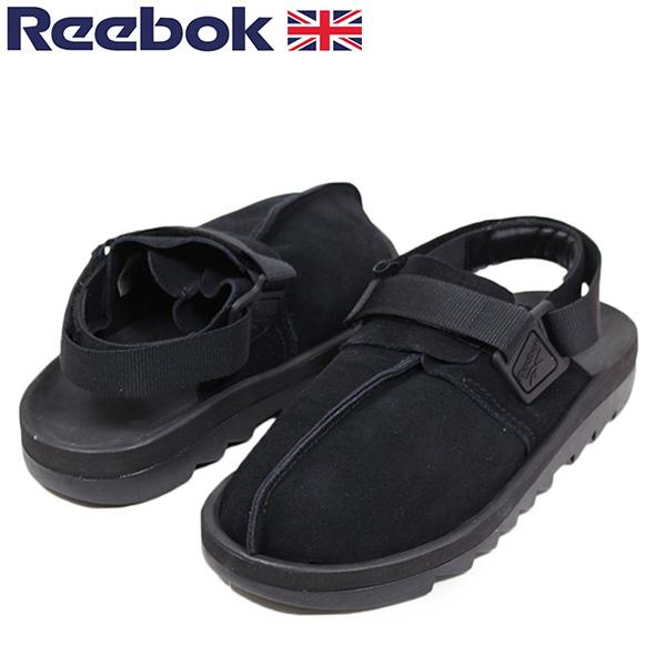 Reebok リーボック BEATNIK ビートニック メンズ サンダル BLACK ブラック スエード 本革 レザー スニーカー シューズ 90s 送料無料 CN3732 通販