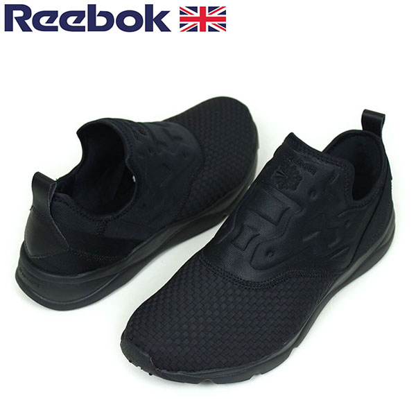 all black reebok