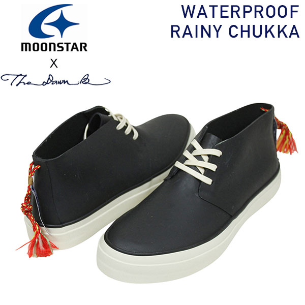 8bdb36f885 Boots rain outfit VANS festival Rakuten mail order for the The Dawn B X  Moonstar waterproofing ラバーチャッカスニーカー [BLACK] men shoes ...