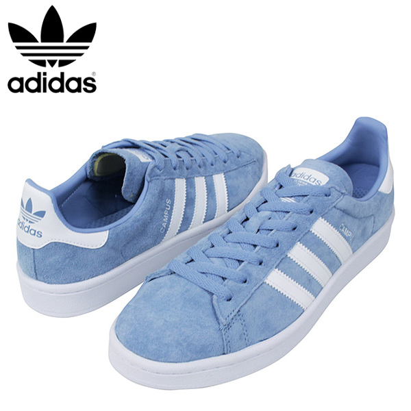 best service 79114 92809 miami records  Shoes genuine leather DB0983 Rakuten mail order for the adidas  Adidas CAMPUS SUEDE men sneakers ASH BLUE campus Ashe blues Kaies aide  leather ...