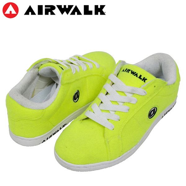 watch 7778c 21517 Shoes Rakuten mail order for the AIRWALK air walk JIM TENNIS men sneakers  NEON YELLOW gym ...