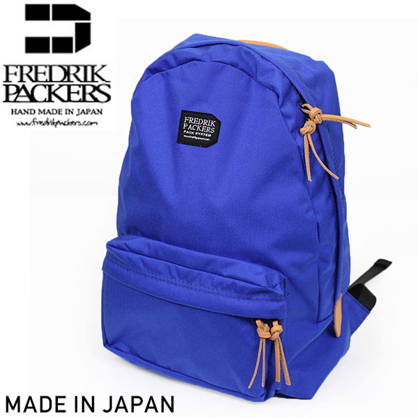 Fredrik Packers フレドリックパッカーズ 聖林公司別注 500D デイパック BLUE リュックサック ブルー 青 アウトドア 通勤 通学 MADE IN JAPAN HRM 日本製 送料無料 通販