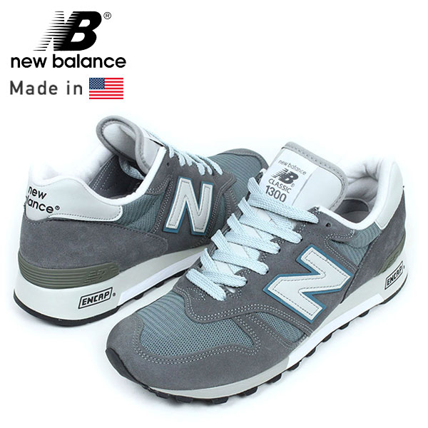 New Balance new balance M1300 CL MADE IN USA sneakers [STEEL GREY, American made grey mens shoes classic overseas limited running classic M576 M996 ur