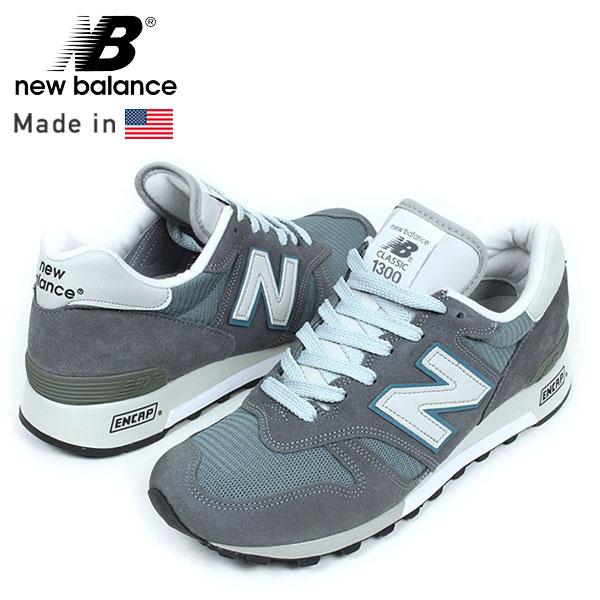 Comfortable 193791 New Balance Classics M1300 Men Blue Grey Shoes