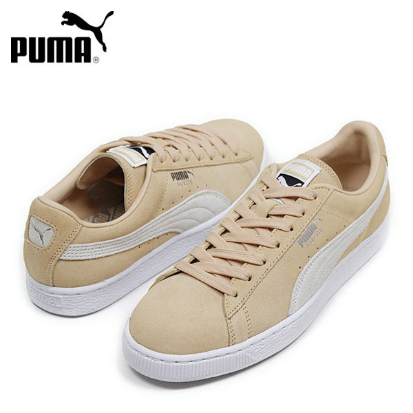 c0ed568b62 PUMA Puma SUEDE CLASSIC men sneakers [LIGHT PINK] suede suede cloth shoes  light pink constant seller masterpiece Rakuten mail order