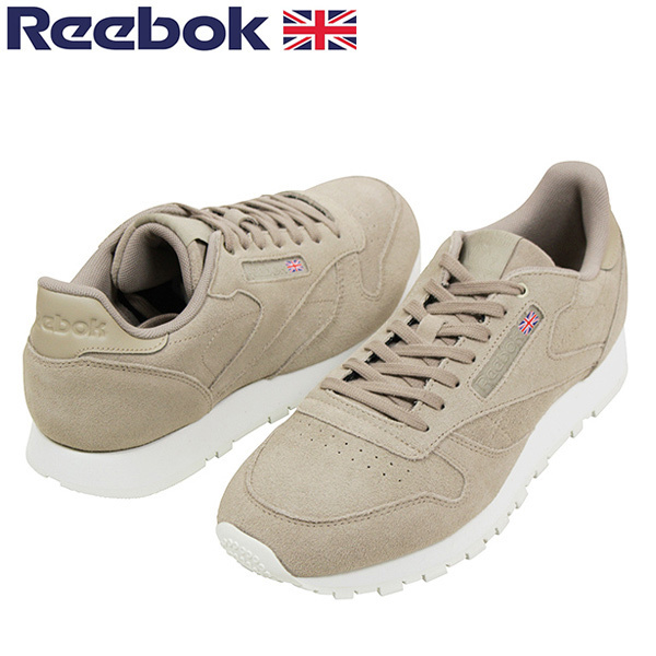 Reebok Reebok CL LEATHER MONTANA CANS men sneakers BEIGE classical music leather Montana beige suede genuine leather leather retrorunning shoes CM9608