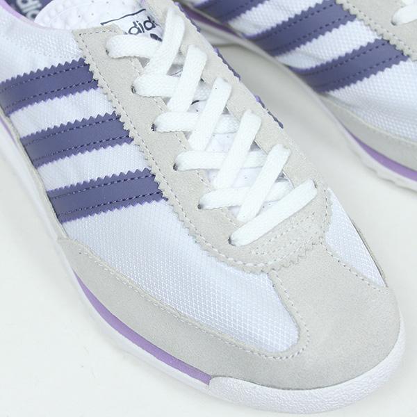 adidas adidas SL72 Womens sneakers [WHITEPURPLE] women's women's wear for women white purple reprint vintage S78927 ur
