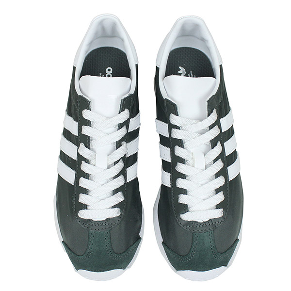 22f04a15122 Green gray retrorunning 80s S32207 Rakuten mail order for the adidas Adidas  COUNTRY OG Lady s sneakers  GREEN GREY  country Ui men woman