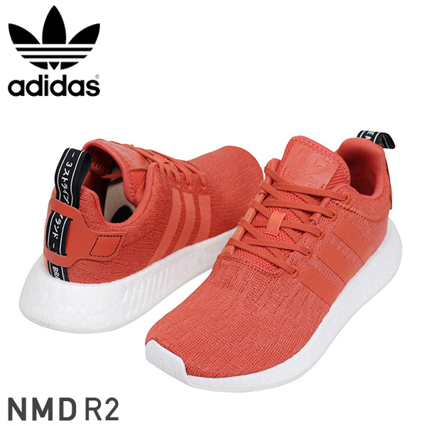 adidas アディダス NMD R2 メンズ スニーカー RED レッド エヌエムディー オリジナルス boost YEEZY ランニング シューズ 男性用 靴 送料無料 BY9915 通販