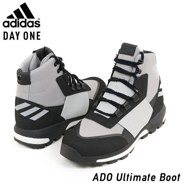 adidas アディダス DAYONE ADO ULTIMATE BOOT メンズ スニーカー BLACK/GREY ブラック グレー トレッキングシューズ ブーツ ブースト 男性用 靴 送料無料 CQ2609 通販