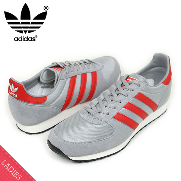 e24b39e08600f miami records  adidas adidas ZX RACER Womens sneakers  GREY RED  women s  women s women s gray red running 80 s S79206 ur