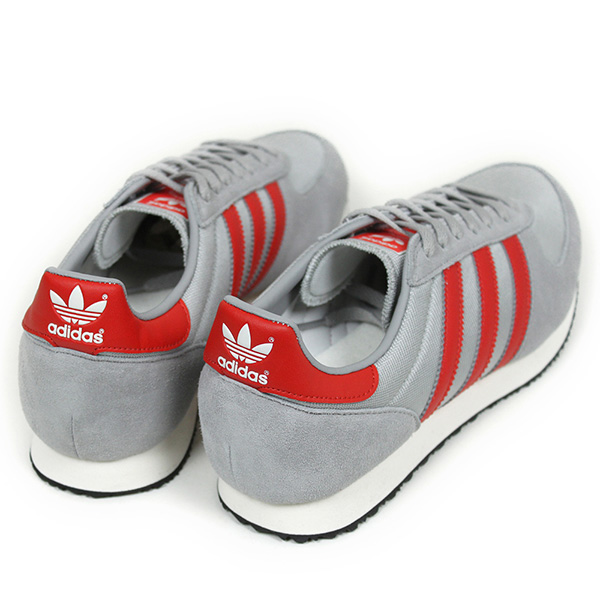 cd79e336182ee adidas adidas  ZX RACER Womens sneakers  GREY RED . It is inspired by   80s  running shoe ZX RACER. Finishing with the coloring Basic