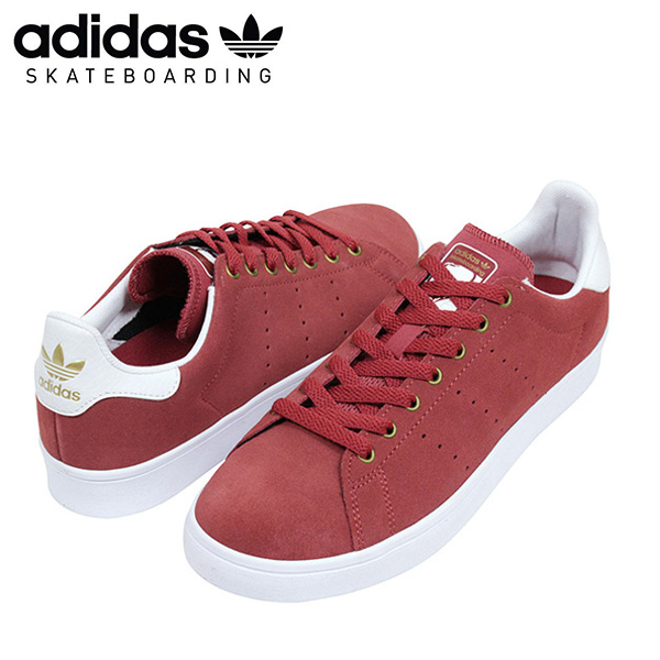 wholesale dealer 6f6c7 68d0e I play adidas skateboarding Adidas STAN SMITH VULC men sneakers BURGUNDY Stan  Smith skating and sell スエードバーガンディスケートボードスケシュー SB ...