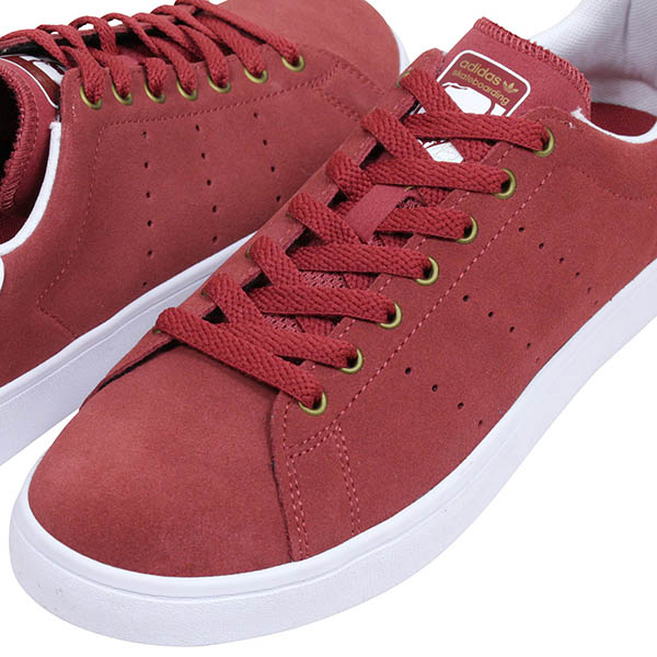 new style d32e2 6e650 I play adidas skateboarding Adidas STAN SMITH VULC men sneakers  BURGUNDY  Stan  Smith skating and sell スエードバーガンディスケートボードスケシュー SB ...