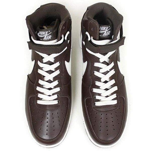 Shoes Rakuten mail order for the NIKE Nike AIR FORCE 1 I HIGH RETRO QS men sneakers [CHOCOLATE] Air Force One Jordan vintage shoes chocolate brown man