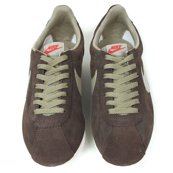 NIKE Nike CLASSIC CORTEZ LEATHER sneakers [BROWN] mens shoes Cortez Brown Brown