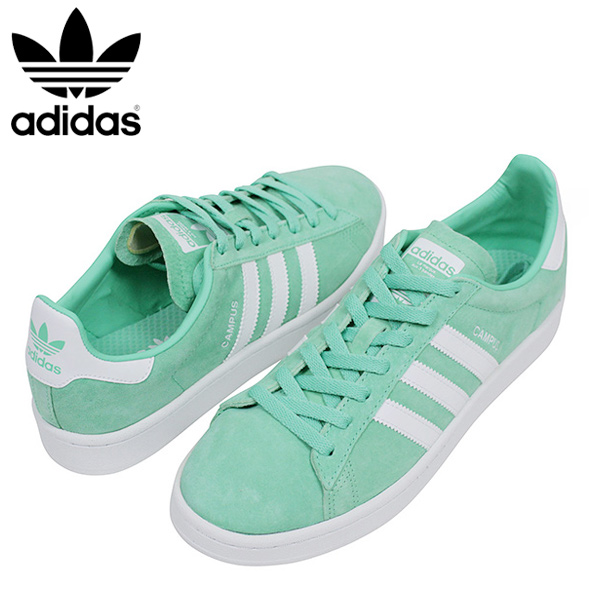official photos 13b86 9abee miami records  adidas Adidas CAMPUS SUEDE men sneakers  MINT GREEN  campus mint  green suede leather shoes pastel color genuine leather BZ0076 Rakuten mail  ...