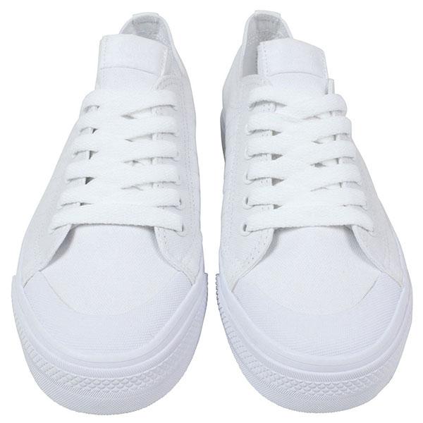 Adidas 아디다스 NIZZA LO CL 78 운동 화 [ALL WHITE] ニッツァ 여성용 올 화이트 흰색 캔버스 화 G95803P06Dec14