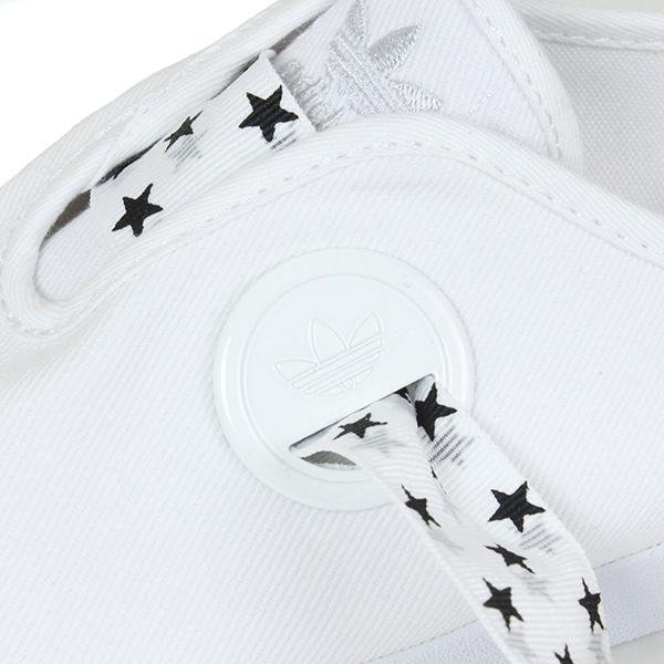 Adidas 아디다스 RELACE LOW W BS 여성용 스 니 커 즈 여성용 여성용 올 화이트 흰색 캔버스 슈즈 B35191 라쿠텐 쇼핑몰