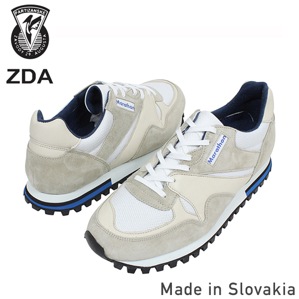 ZDA Marathon Sept die 2400 FSL sneakers men's Marathon retro running shoes white vintage-Euro 50's made in Slovakia reprint ur for men's shoes