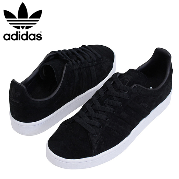 brand new 1338f a0e94 miami records  Shoes BB6745 Rakuten mail order for the adidas Adidas CAMPUS  STITCH AND TURN men sneakers BLACK campus originals vintage white black  leather ...