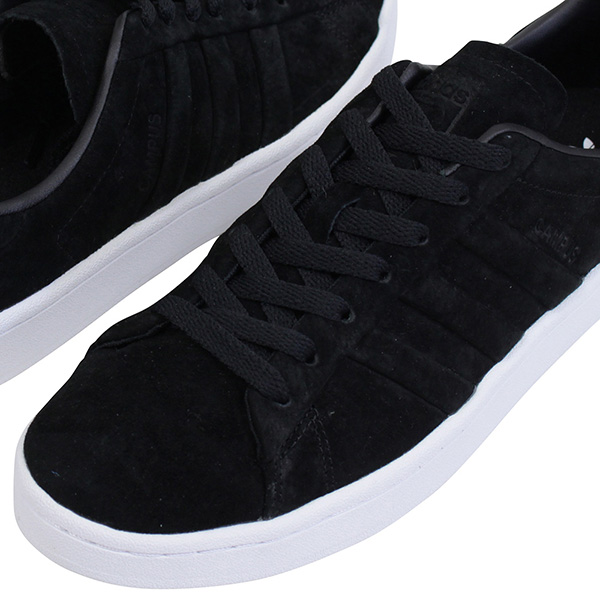 online store d23ca 20822 Shoes BB6745 Rakuten mail order for the adidas Adidas CAMPUS STITCH AND TURN  men sneakers BLACK campus originals vintage white black leather suede man