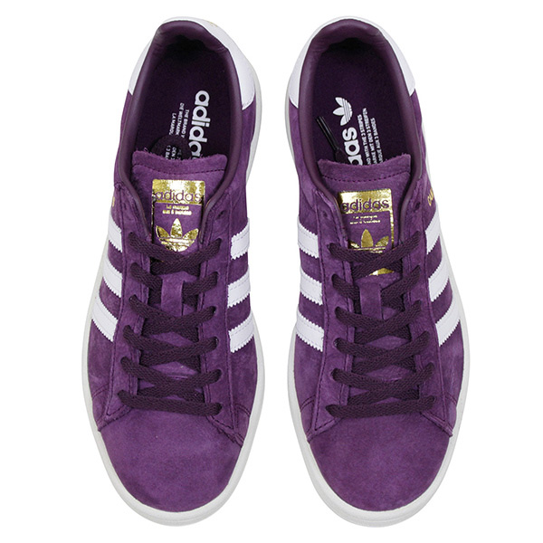 more photos 4977e 0d36e Shoes BY9843 Rakuten mail order for the adidas Adidas CAMPUS W SUEDE Ladys  sneakers DARK PURPLE campus purple white suede leather shoes woman