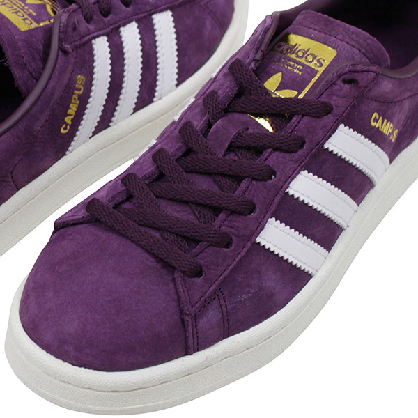 7d652fe14fd Shoes BY9843 Rakuten mail order for the adidas Adidas CAMPUS W SUEDE Lady s  sneakers DARK PURPLE campus purple white suede leather shoes woman