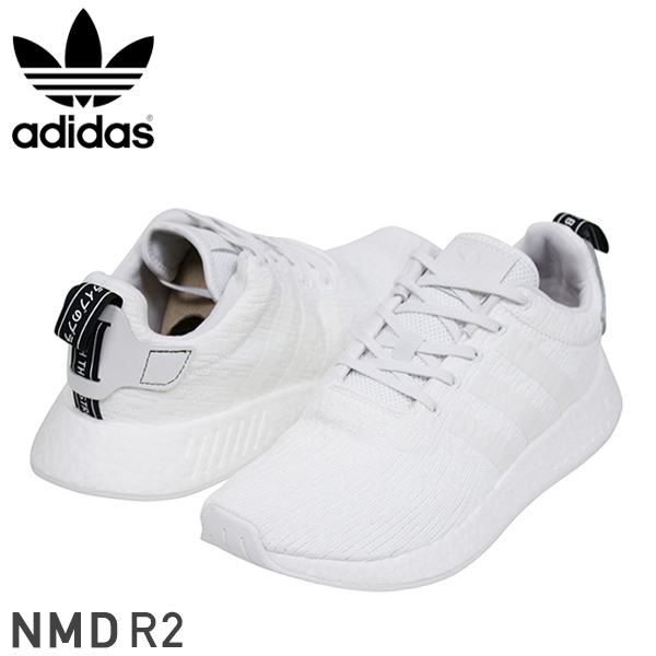 65396606380 miami records  Shoes BY9914 Rakuten mail order for the adidas Adidas NMD R2  men sneakers  WHITE  white N M D originals boost YEEZY running shoes man ...