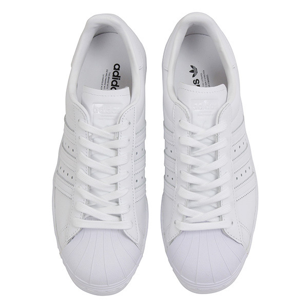 5633387e578 Shoes S79443 Rakuten mail order for adidas Adidas SUPER STAR 80S Lady s  sneakers ALL WHITE superstar white originals leather shoes SS lady of the  evening ...