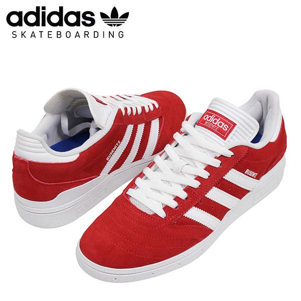 adidas skateboarding アディダス BUSENITZ メンズ スニーカー RED/WHITE ブセニッツ スケートボード スケシュー シューズ レッド ホワイト 男性用 靴 送料無料 SB BB8432 通販