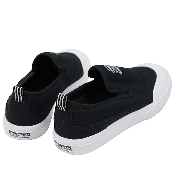 4ea208ffdbba It is adidas skateboarding Adidas MATCHCOURT SLIP men sneakers  BLACK WHITE  .