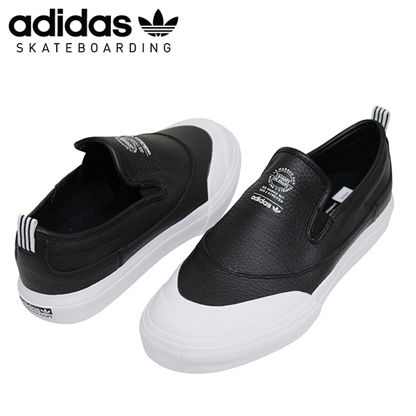 b4bda2add09 Shoes CG4512 Rakuten mail order for the adidas skateboarding Adidas  MATCHCOURT SLIP CORE men sneakers BLACK slip-ons black black スケートボードスケシュー  ...
